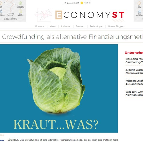 EconomyST 16.08.17 - Crowdfunding als alternative Finanzierungsmethode